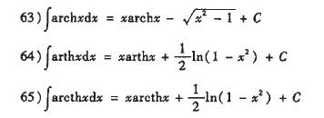 常用不定积分公式_积分公式_机械资料网