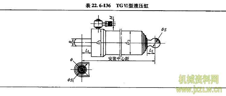 伸缩式套筒液压缸_机械资料网图片