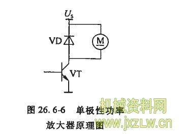 晶体管单电源功放电路图