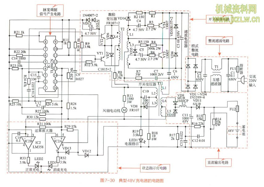 电动自行车控制器电路及原理大全