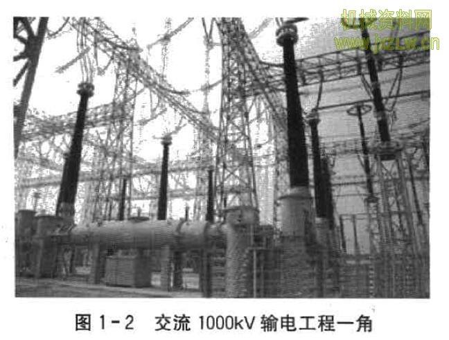 我国特高压输电线路的建设情况怎样? 答:高压输电技术最早是直流输电,电压为几十千伏级。变压器发明 后,交流高压输电技术发展很快,在输电系统中占统治地位,电压为几百千 伏级。电力电子技术的不断进步,使高压直流输电重新得到发展。目前,世 界最高输电电压,交流为1000kV,直流为±800kV。 2005年2月,我国的特高压电网工程全面启动。 交流1000kV输电工程有:国家电网公司的陕北一晋东南一南阳一荆 门一武汉的1000kV交流输电工程;淮南一皖南一浙北一上海的1000kV交 流输电工程。南