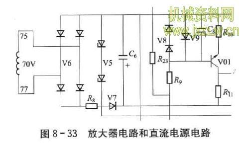 放大器电路和直流电源电路