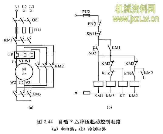 以上三个接触器控制的电路适合控制功率为13kw